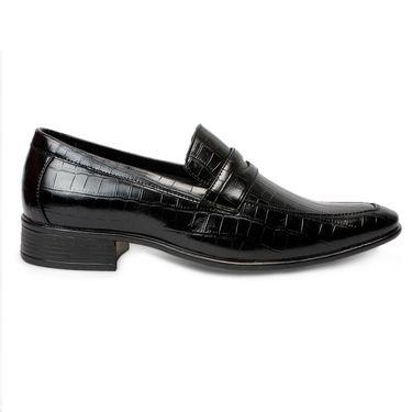 Bacca Bucci PU Black Formal Shoes -Bbmf7329A