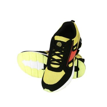 Bacca Bucci Mesh Yellow Sports Shoes -Bbmg8019L