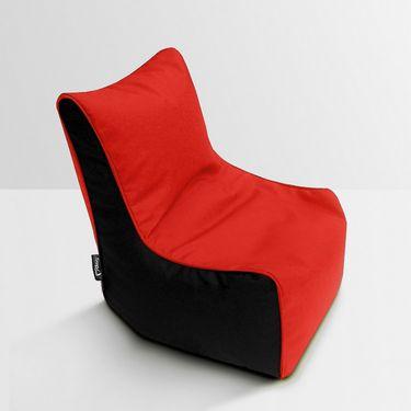 Storyathome Red- Black Bean Bag Chair Cover- XXL