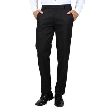 Bendiesel Cotton Trouser for Men - Black_BDFT001