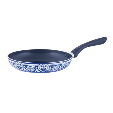 Brilliant Blue Pottery 4pc Nonstick Induction based Cookware Set