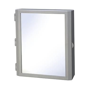 Cipla Plast Flora Bathroom Mirror Cabinet - White