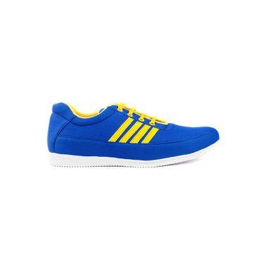 Kohinoor Footwears Canvas Casual Shoes BT084_Blue