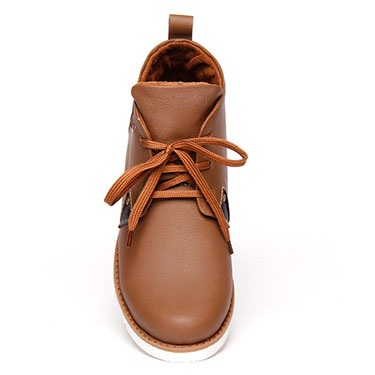 Bacca bucci  Leather  Boots - Tan-4386