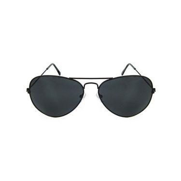 Unisex Aviator Sunglasses_Bes022 - Smoke
