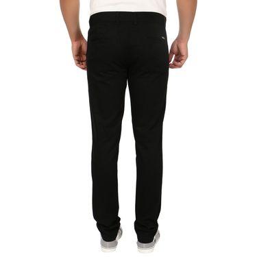 Blimey Slim Fit Cotton Chinos_Bf03 - Black