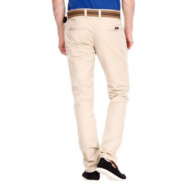 Pack of 2 Blimey Slim Fit Cotton Chinos_Bf22 - Beige & Grey