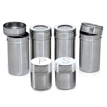 Branded 44 Pcs. Stainless Steel Storage Set