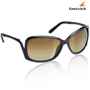 Fastrack Wayfarer Sunglasses For Women_C046br3 - Brown