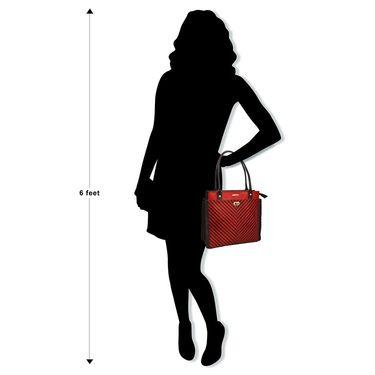 Arpera Red Ladies Handbag Ssa25
