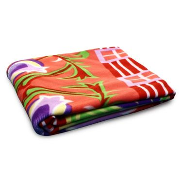 Storyathome Set of 2 Designer Printed DoubleFleece Blanket-CA1211-CA1212