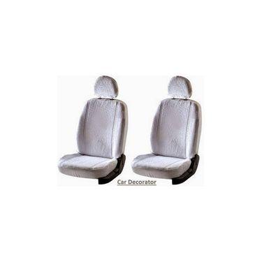 Car Seat Cover For Martini Suzuki Celerity - White - CAR_1SC1WHT236
