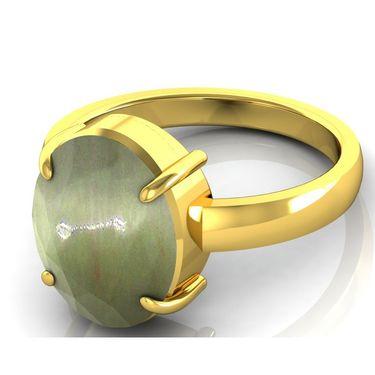 Kiara Jewellery Certified Lehsuniya 3.0 cts & 3.25 Ratti Cats Eye Ring_Catry