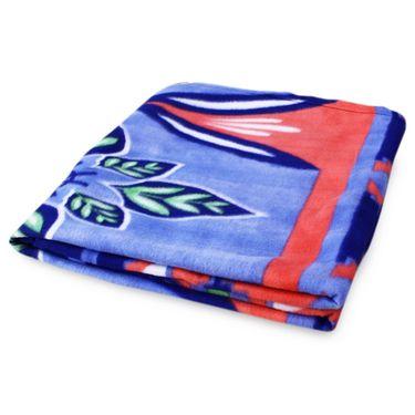 Pack of 5 Designer Printed Double Fleece Blanket-CA_1210