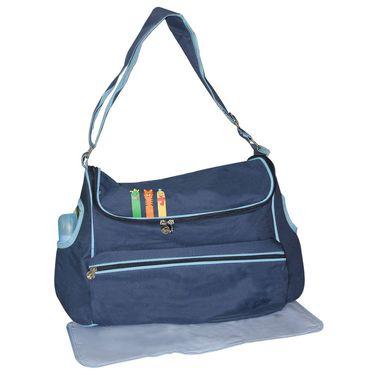 Wonderkids Blue Baby Diaper Bag