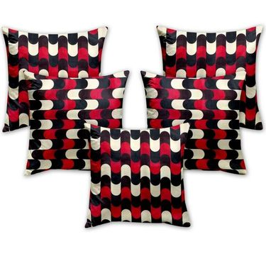 Set of 5  Designer Digital Print Cushion Cover -CH1033