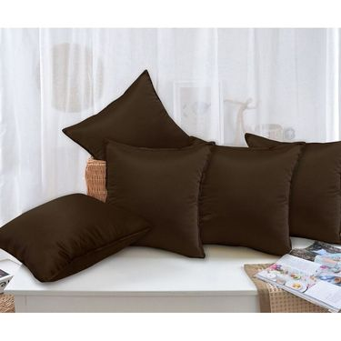 Set of 5 Plain Cushion Cover -CH1402