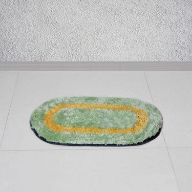 Combo of 100% Cotton Double Bedsheet, Blanket, Curtain Set & Door Mat-CN_1403