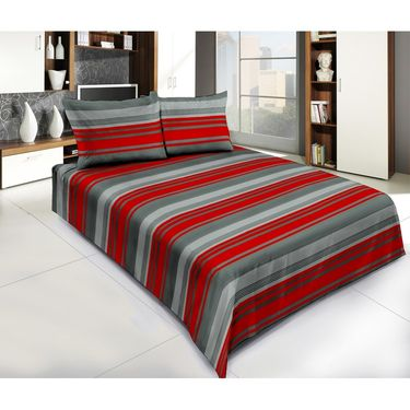 Exclusive Pack of 3 Bedsheets with 6 Pillow Covers-CRH-DB376