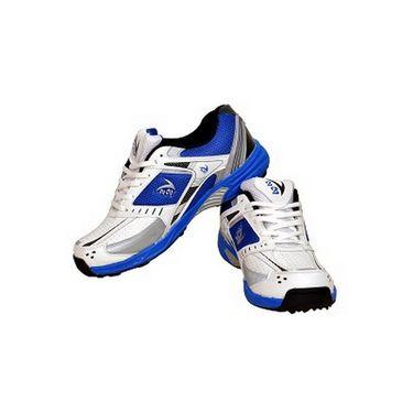 V22 Cricket Stud Shoes  Blue & White Size - 6