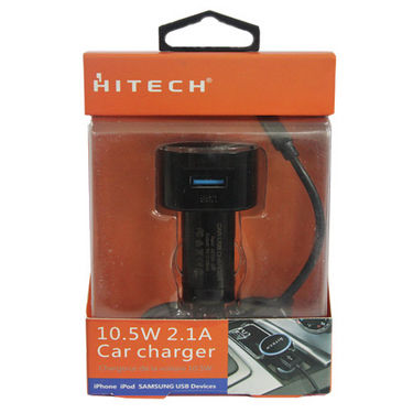 Hitech Car Charger - Black