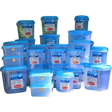 Chetan 33Pcs Jumbo Kitchen Storage Container Set - Blue