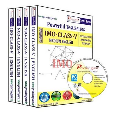 Practice Guru Class 5 - Combo Pack (IMO / NSO / IEO / NCO) - Smart-123
