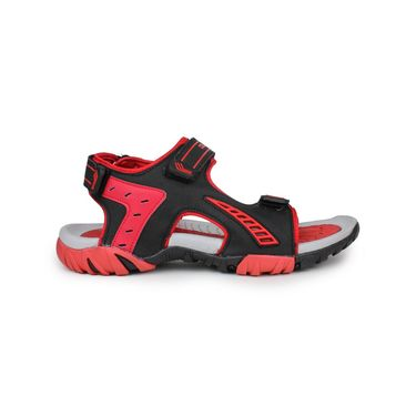 Columbus PU Grey Black &  Red Floater -S-101