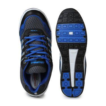 Columbus Black & Blue Sports Shoe C12
