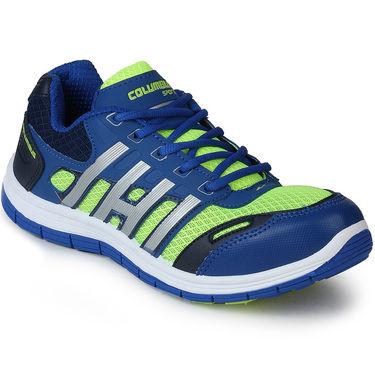 Columbus Blue & Green Sports Shoe C13