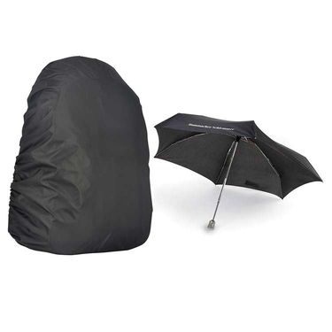 Rainy Day Combo - Laptop Backpack Cover+Umbrella