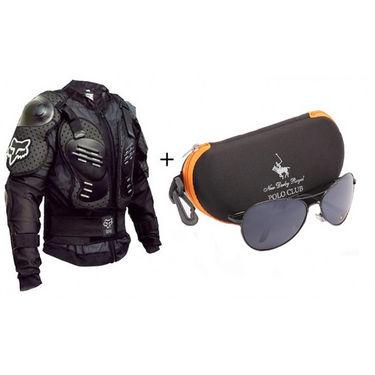 Combo of Sensational Sunglasses + Riding Jacket