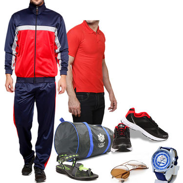 Fila Sports Gym Combo with Mens Accessories_Empcm01