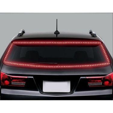 AutoStark 5 Meters Waterproof Cuttable LED Lights Strip Roll - Red