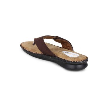 Do Bhai Suede Flats Comfort-G64-Brown