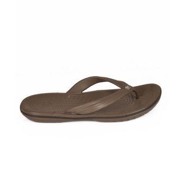 Crocs Brown Flip Flops - oc02