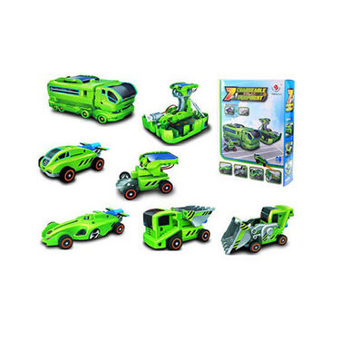 Combo of 7 in 1 and 6 in 1 Educational Solar Toy Kit - Multicolor