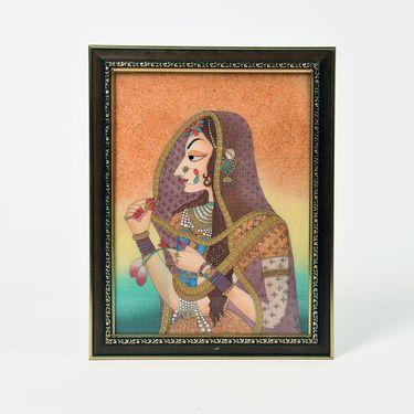 Little India World Famous Cute Bani Thani Gemstone Painting 341