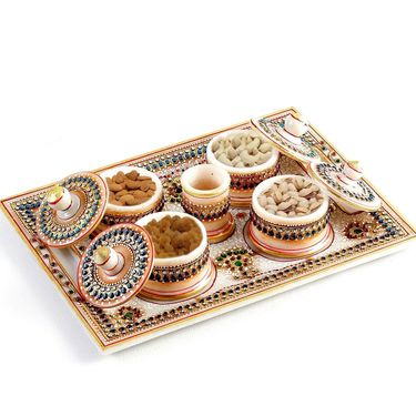 Awesome Dryfruit Tray with dry fruit_DMAR1239
