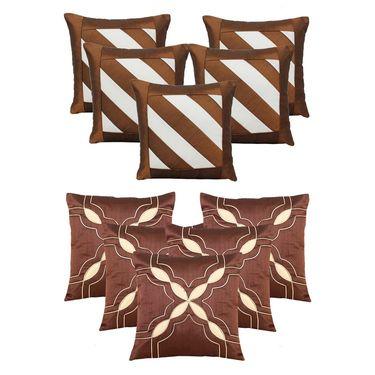 Dekor World Set of 10 Designer Printed Cushion Cover-DWCB-194