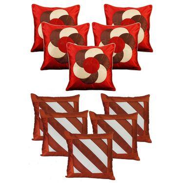 Dekor World Set of 10 Designer Printed Cushion Cover-DWCB-198