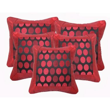 Set of 5 Dekor World Design Cushion Cover-DWCC-12-017-5