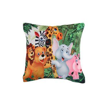 Dekor World Royal Zari Work Cushion Cover(Pack of 5)-DWCC-12-158-5