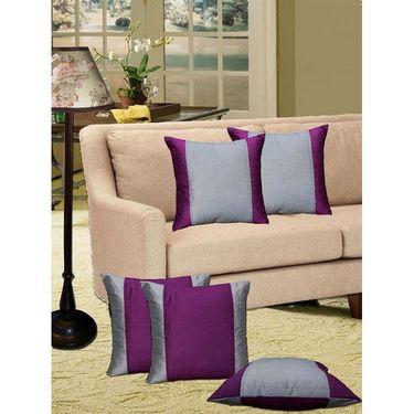 Set of 5 Dekor World Design Cushion Cover-DWCC-12-66