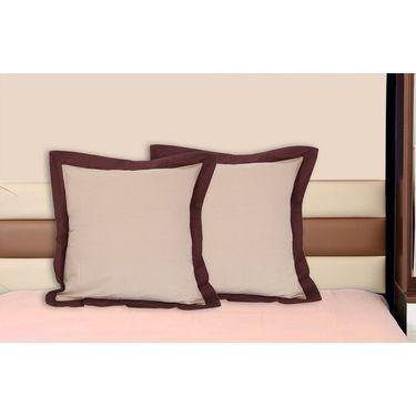 Set of 2 Dekor World Cotton Big Cushion Cover-DWCC-24-089