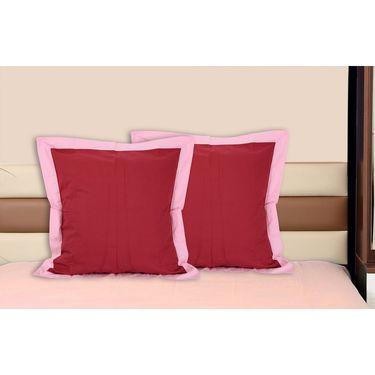 Set of 2 Dekor World Cotton Big Cushion Cover-DWCC-24-090