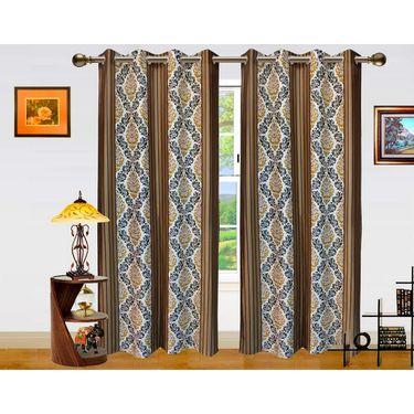 Dekor World Signature Window Curtain-Set of 2 -DWCT-771-5