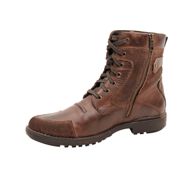 Delize Leather Boots - Brown-1851