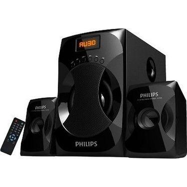 Philips 2.1 Multimedia Speaker System Explode MMS4040F-94(Black, 2.1 Channel)