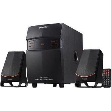 Philips IN-MMS 2550F-94 Wired Laptop-Desktop Speaker(2.1 Channel)